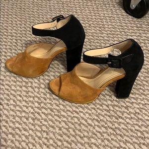 2 toned heels